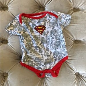Official Superman superhero onesie (Newborn)